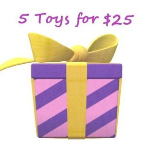 5 kids toys mystery box